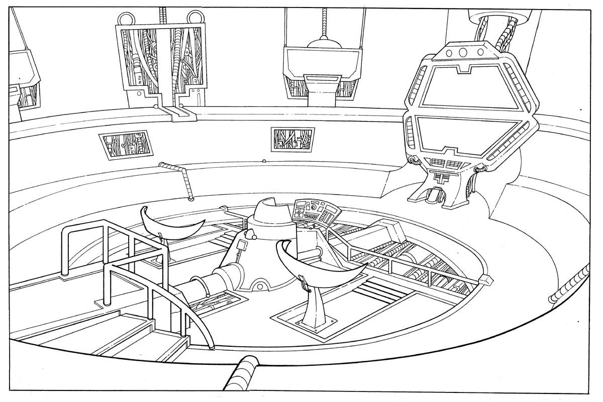 Spaceship Bridge 71915986 together with  besides BSG also  on battlestar pegasus schematics