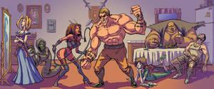 Seven Deadly Sins by bonvillain