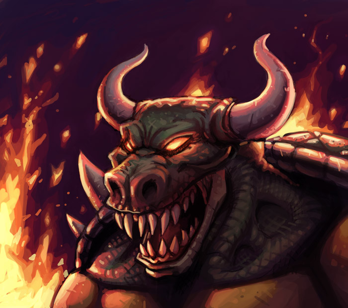 Bowser by bonvillain