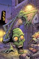 Garbage-monster by bonvillain