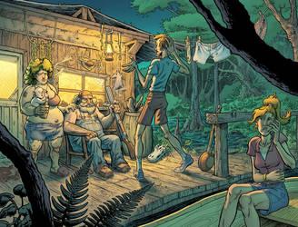 Swamp - Colors by bonvillain
