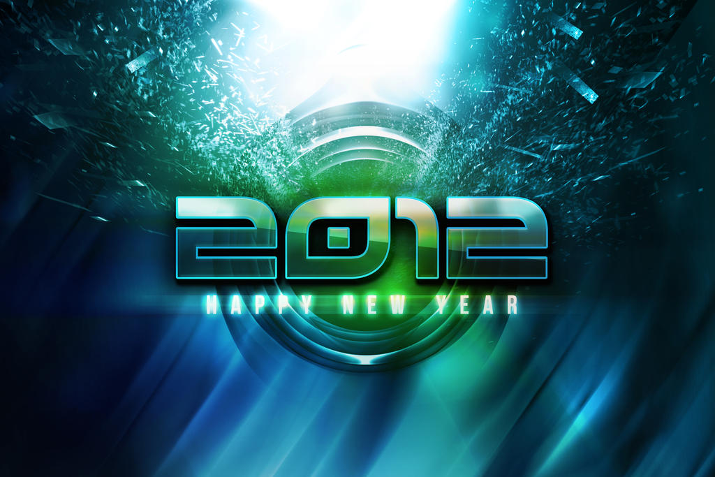 Happy new year 2012 by ravirajcoomar
