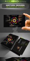 Motion Design Business Card