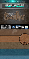Rough Leather Seamless tileable photoshop Pattern