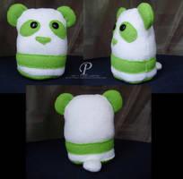 Green Panda by Pyro-Vampire