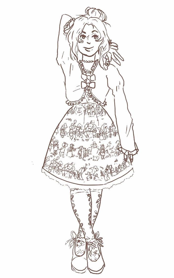 lolita trick or treat by Klai-Don