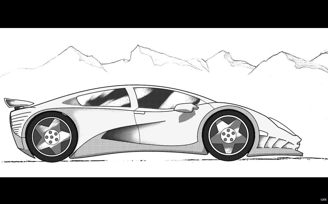 sports car by gkn112 - Sport Cars Drawings