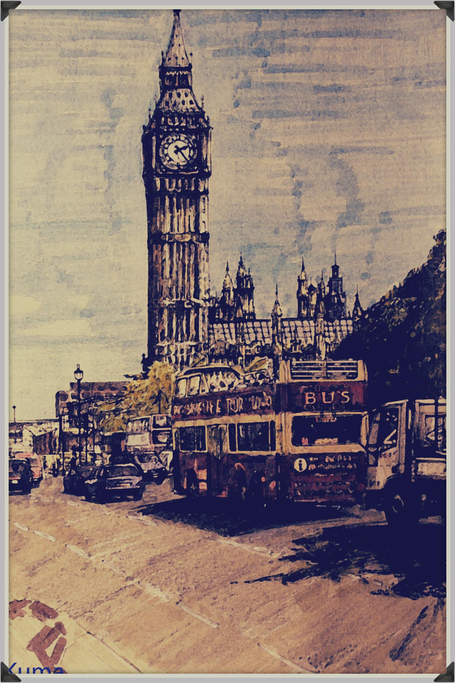 Big Ben Colored by NinjaKuma