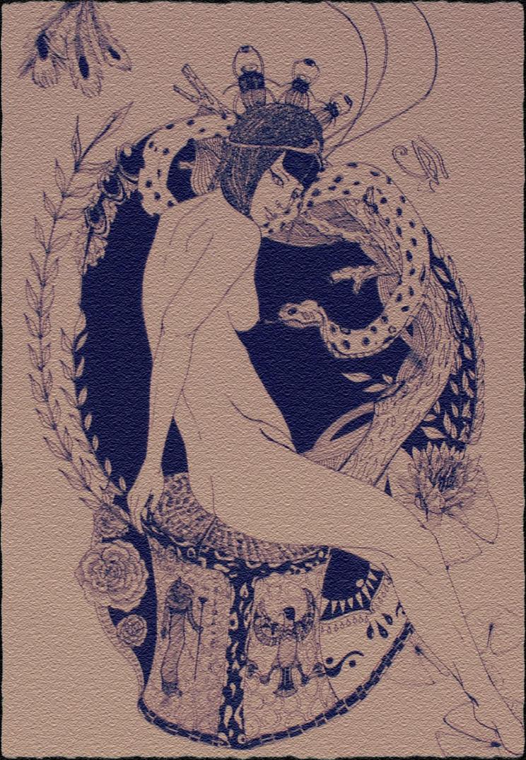 Cleopatra by NinjaKuma