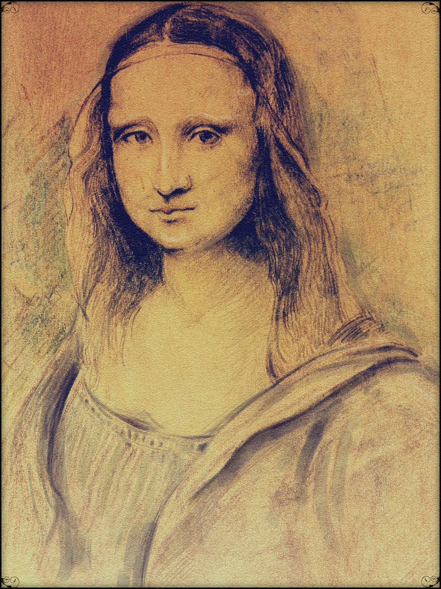 Mona Lisa by NinjaKuma