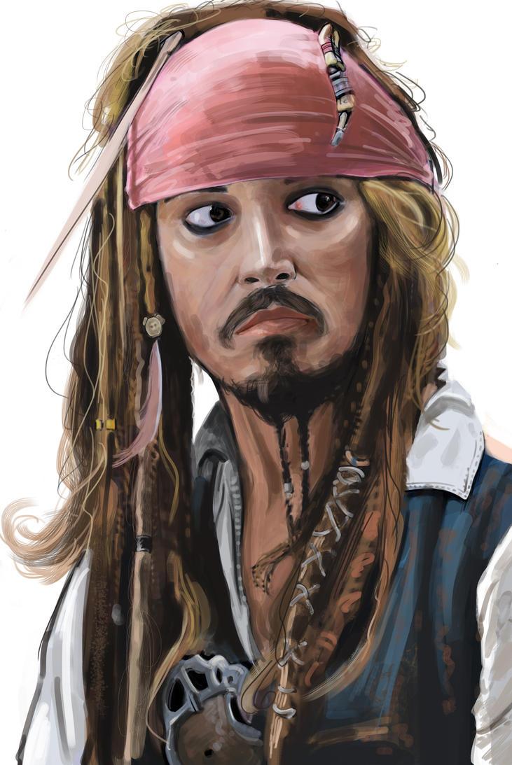 Capt Jack Sparrow by NinjaKuma