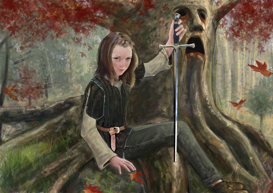 Arya Stark by NinjaKuma