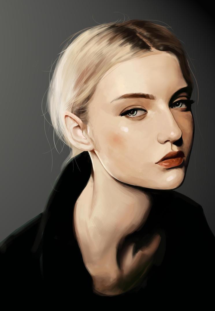 Portratit Of Nastya Kusakina by NinjaKuma
