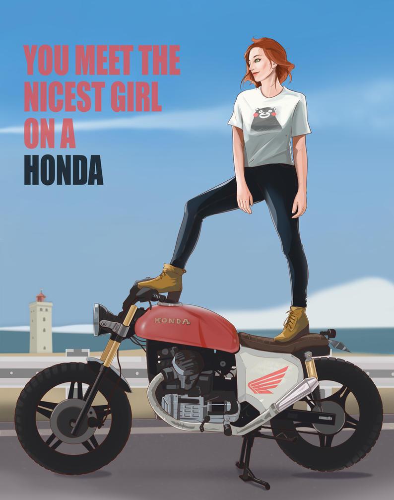 You Meet The Niceset Person On A Honda by NinjaKuma