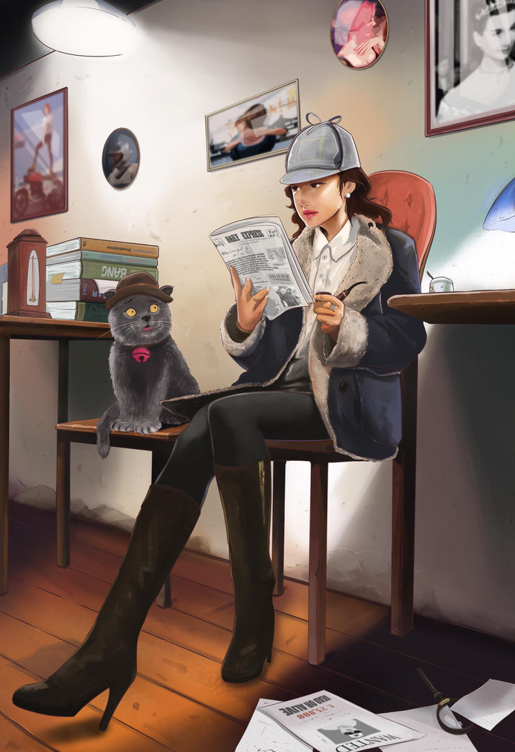 Miss Sherlock by NinjaKuma