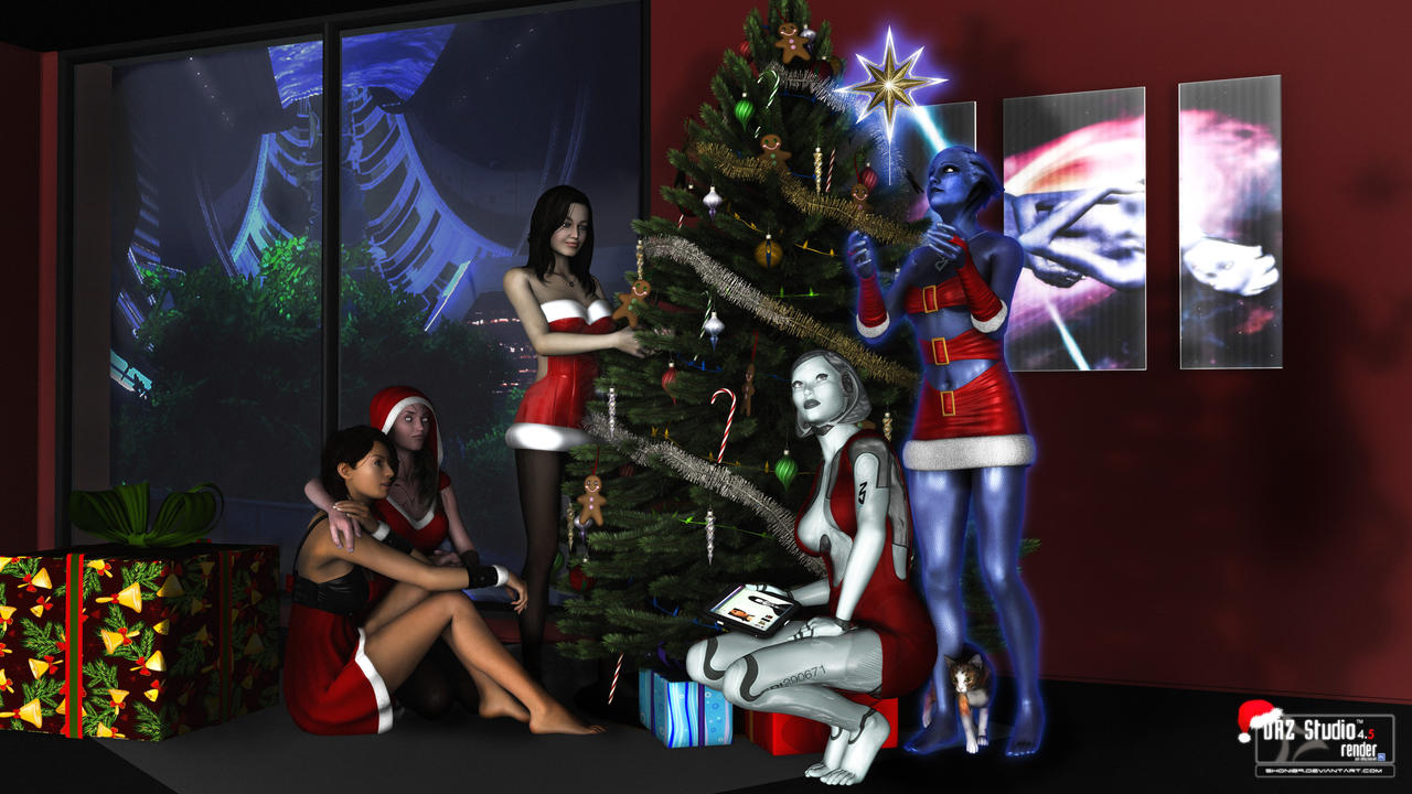 Merry Xmas 2012 - ME Edition by sHoNi89