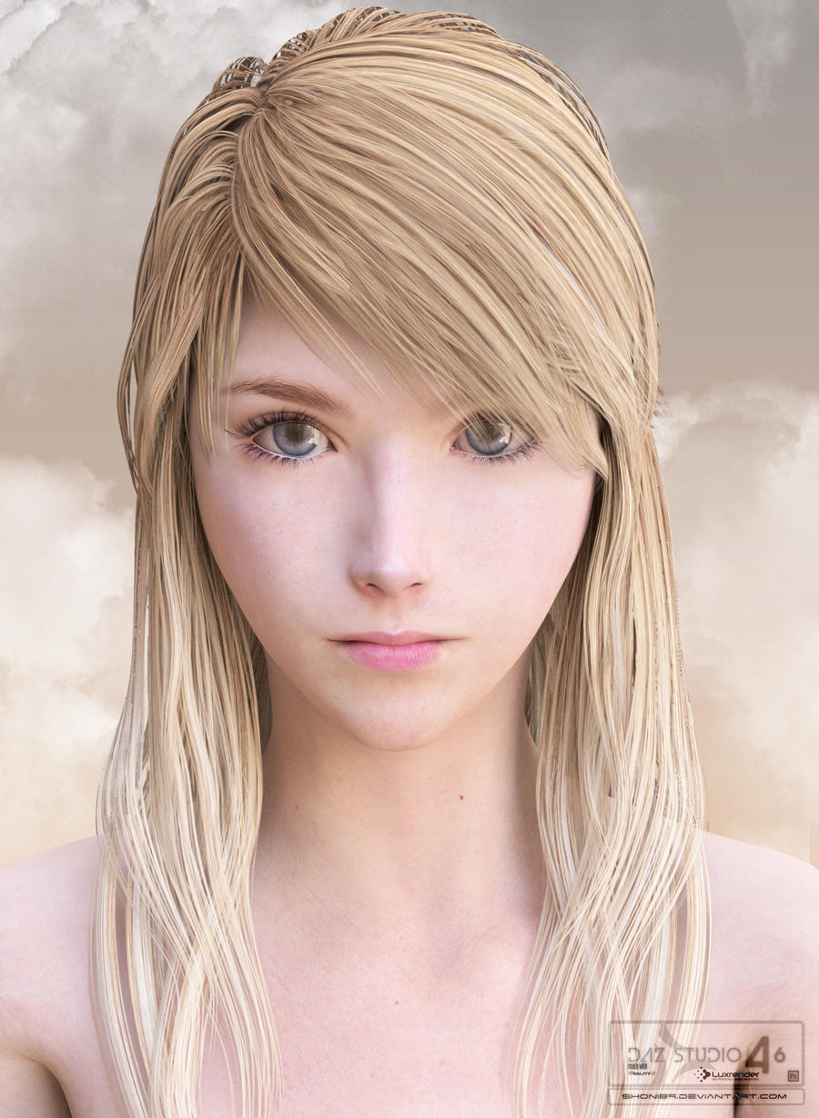 Stella simulation, art modeling studio, sparkle art modeling, peach ...