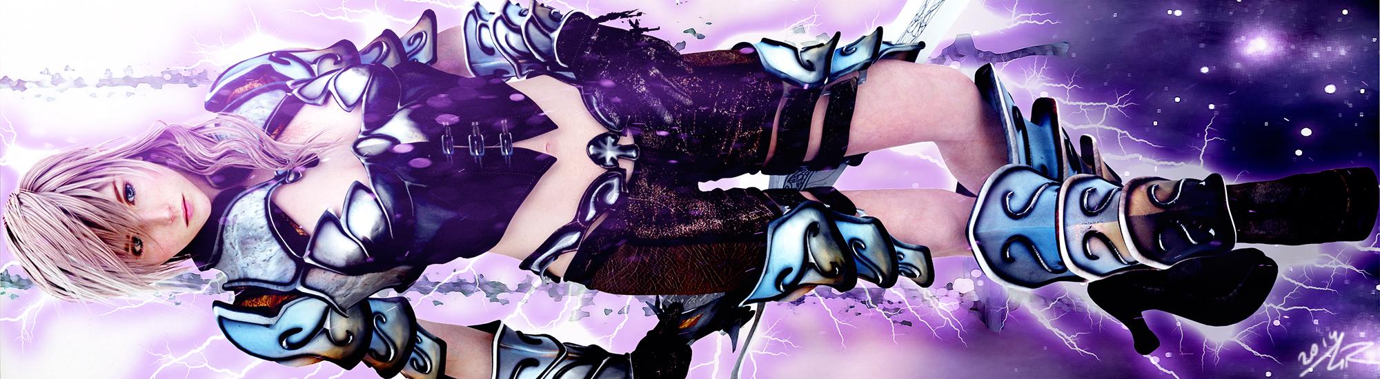 Purple Bolt by sHoNi89