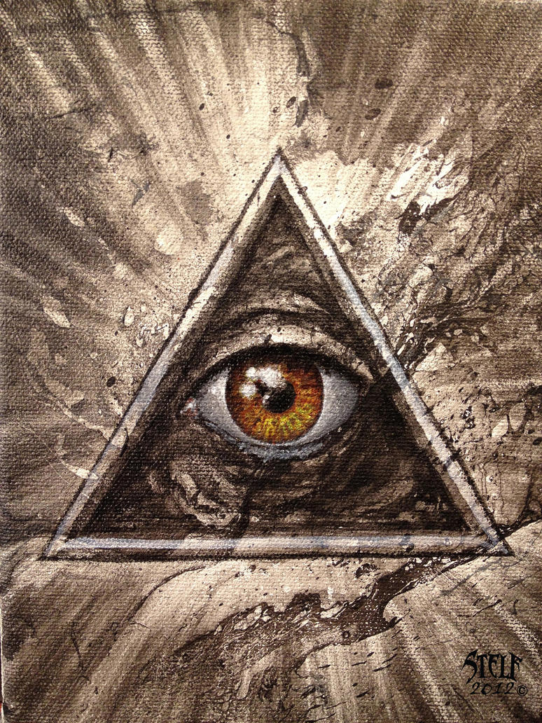 All Seeing Eye 01 By Stelf-2014 On DeviantArt