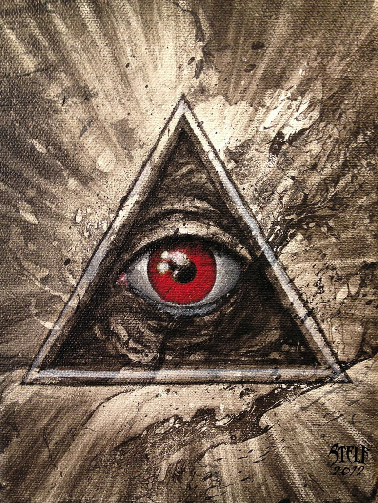 All Seeing Eye 02 By Stelf 2014