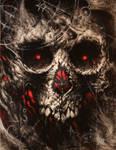 Etheric skull 01 by Stelf 2020 by Stelf-2014