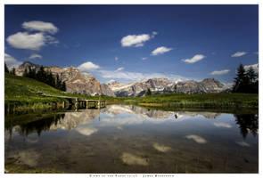 A serene day on the Pralongia Plateau by JamesRushforth
