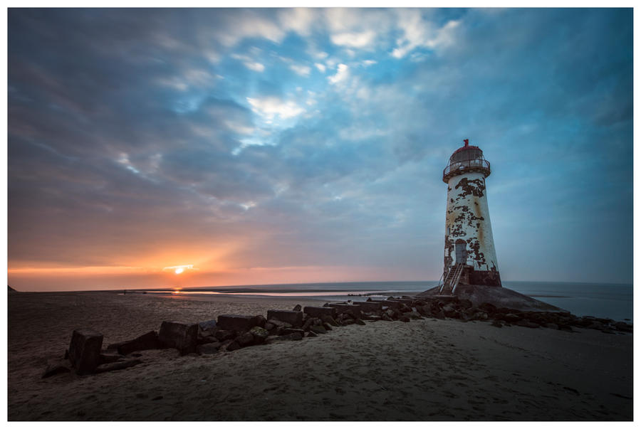 Talacre Lighthouse by JamesRushforth