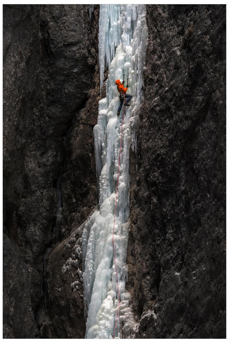 Climbing Spada nella Roccia by JamesRushforth