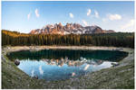 Lago Carezza Panorama