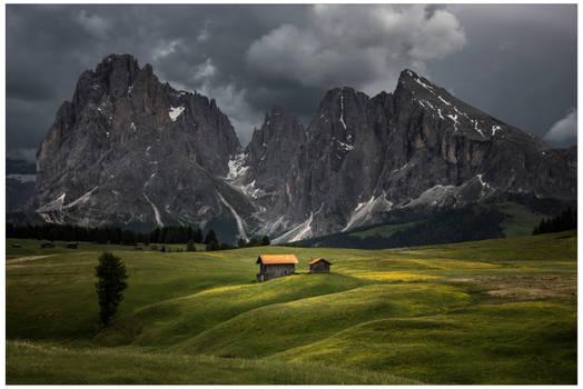Alpi di Siusi light play
