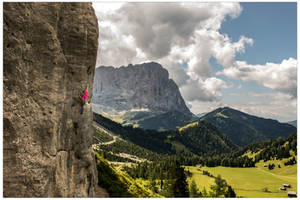 Sport climbing in the Dolomites by JamesRushforth