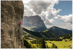 Sport climbing in the Dolomites