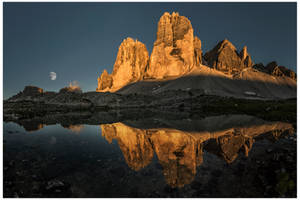 The beauty of the Tre Cime by JamesRushforth