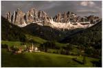The beautiful Val di Funes