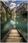 Boathouse steps by JamesRushforth