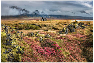 Autumn colours at Budir by JamesRushforth