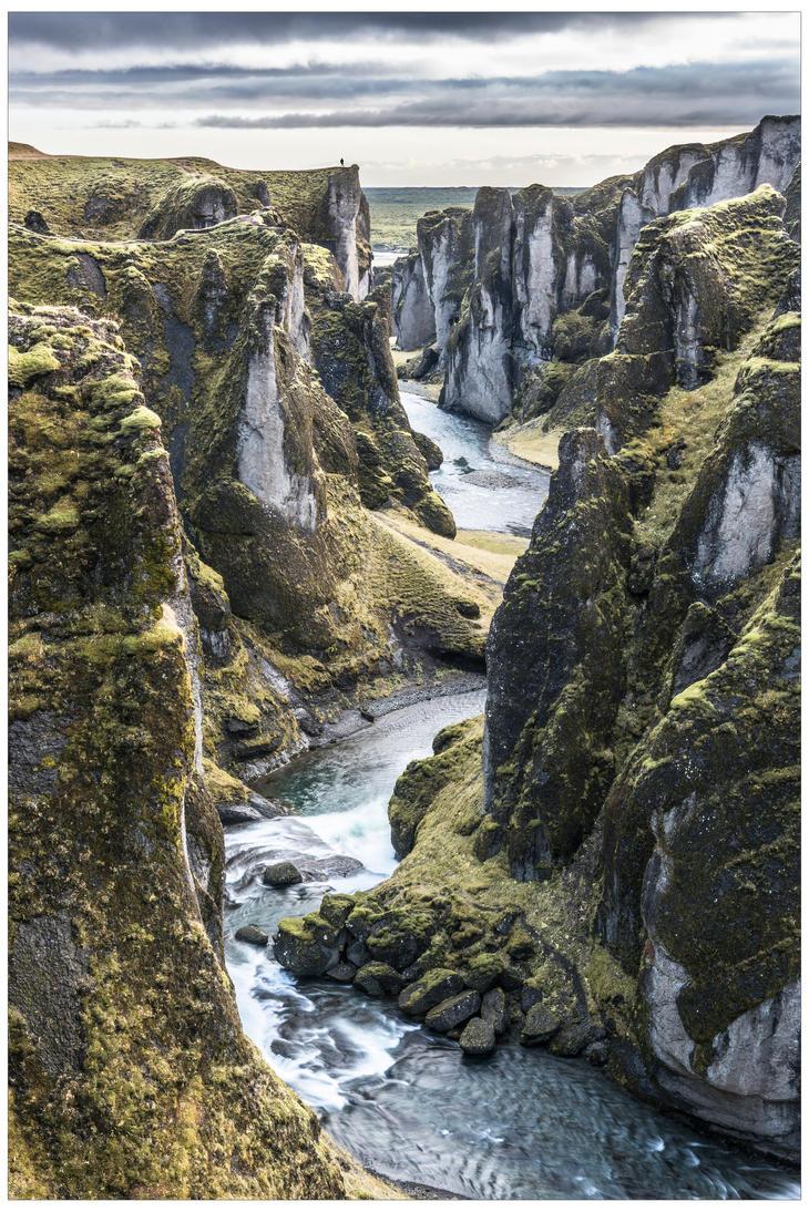 Fjadrargljufur Canyon by JamesRushforth