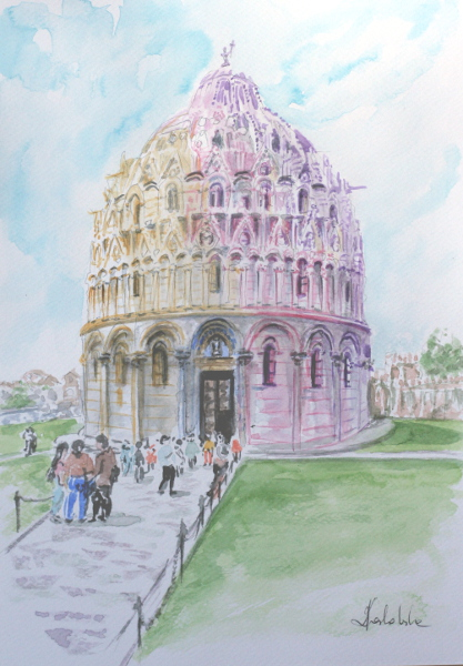Cathedral of Pisa - Italy by danuta50