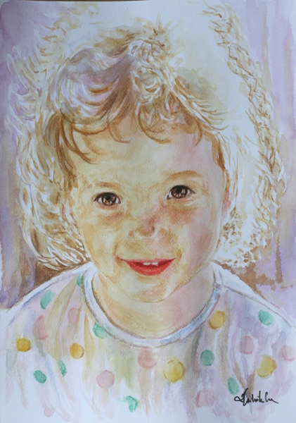 Portrait by danuta50