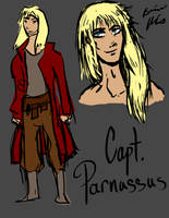 Capt. Parnassus by Snowy-Dragoness