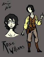 Rose Williams by Snowy-Dragoness