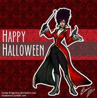 Happy Halloween by Snowy-Dragoness