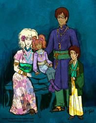 A Family Portrait by Snowy-Dragoness