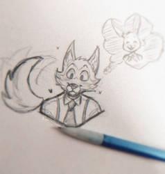 Simple sketch (Beastars)