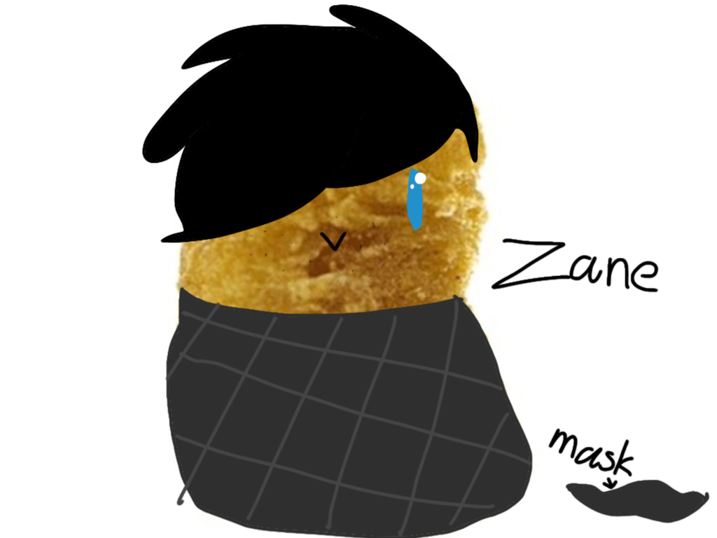 Zane the nugget by Blueberrythehusk