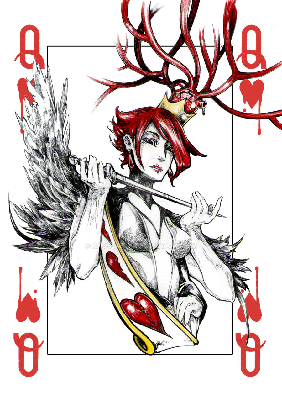 Queen of hearts by Kaos-Nest