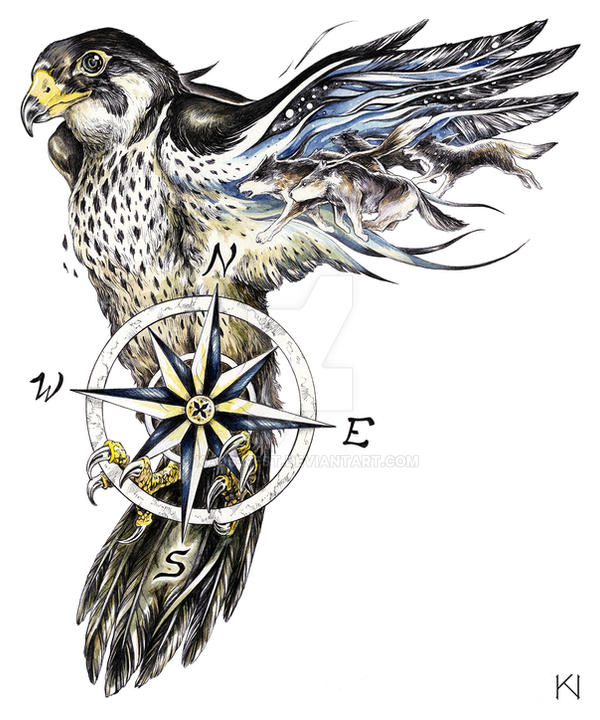 peregrine falcon tattoo design by kaos nest on deviantart rh kaos nest deviantart com Peregrine Falcon Nest peregrine falcon tattoo meaning