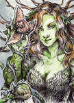 ACEO/ATC Poison Ivy
