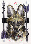 maned wolf aceo