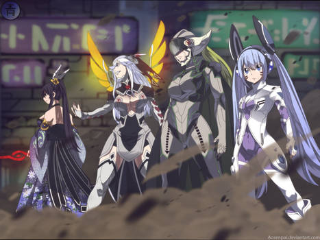 Demon king`s four shining stars